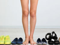legs and shoes